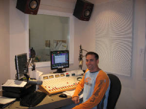 This is me broadcasting at Magic 1280 in Powell River.