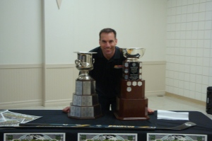 Darryl With Credit Union & Anavet Cups